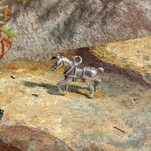 Sterling Silver Horse Charm/Pendant